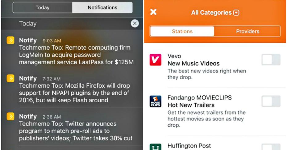 فيسبوك ستكشف عن تطبيق Notify للأخبار العاجلة الاسبوع القادم