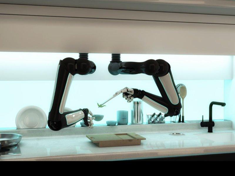 هذا الروبوت سيصنع لك الغداء