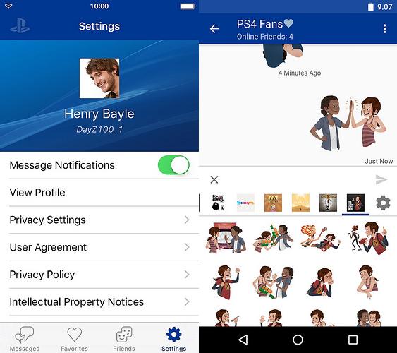 سوني تطلق تطبيق Messaging للتواصل بين مستخدمين بلايستيشن