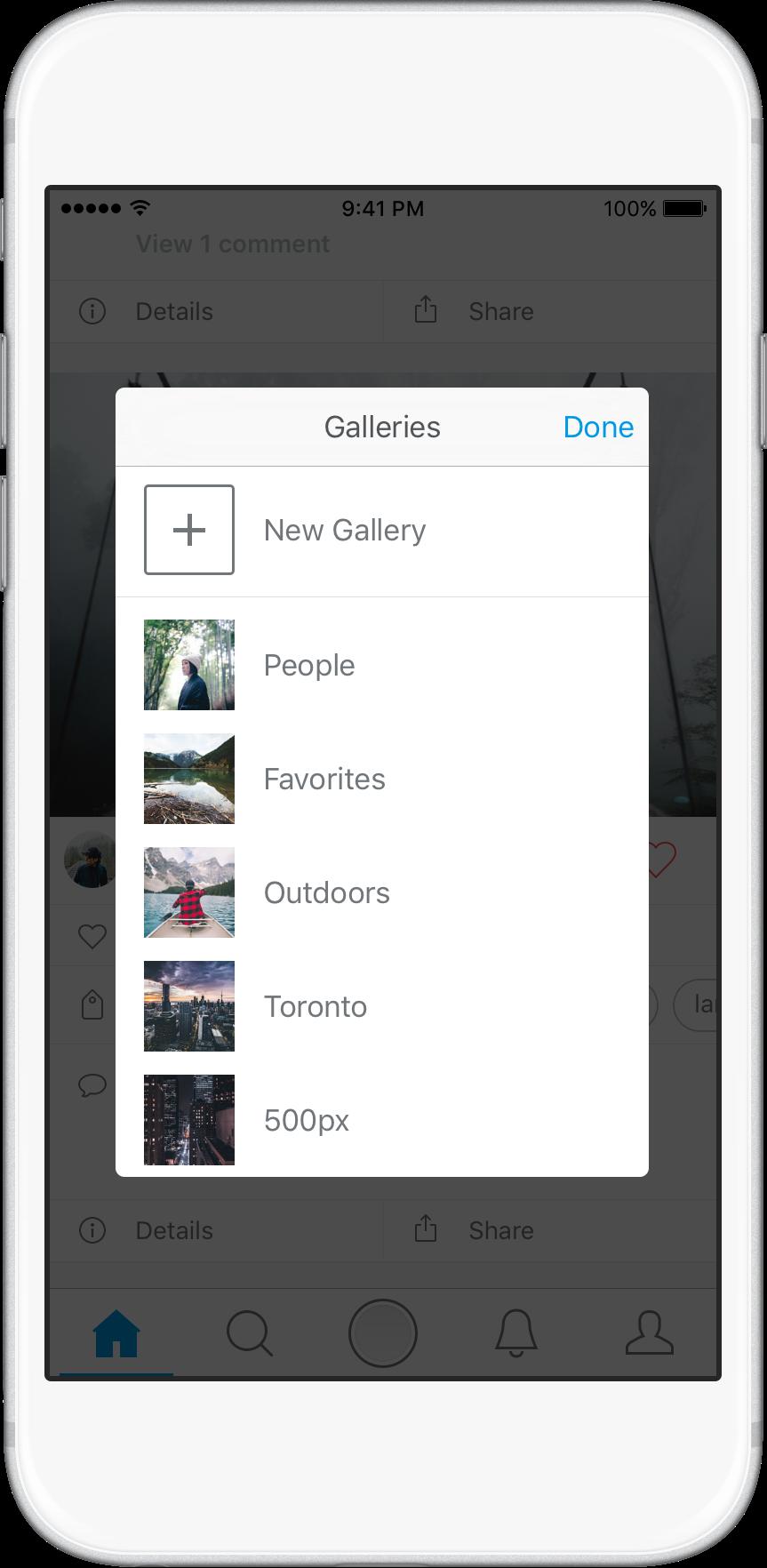 تطبيق 500px على أندرويد يجلب تصميم جديد وعلى iOS يدعم 3D touch