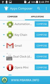 تطبيق AppsComposer للتحكم بإشعارات التطبيقات المثبتة على هاتفك أندرويد