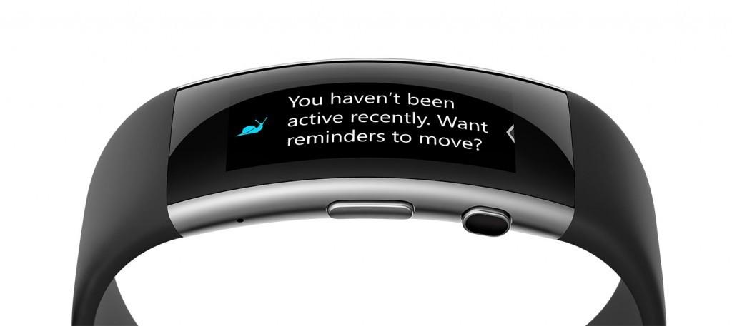 مايكروسوفت باند 2 يدعم التنبيهات والتحكم بالموسيقى
