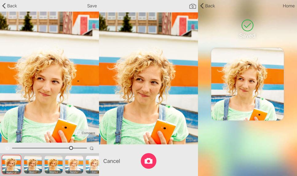تطبيق Selfie من مايكروسوفت على iOS لإلتقاط صور السيلفي وتحريرها