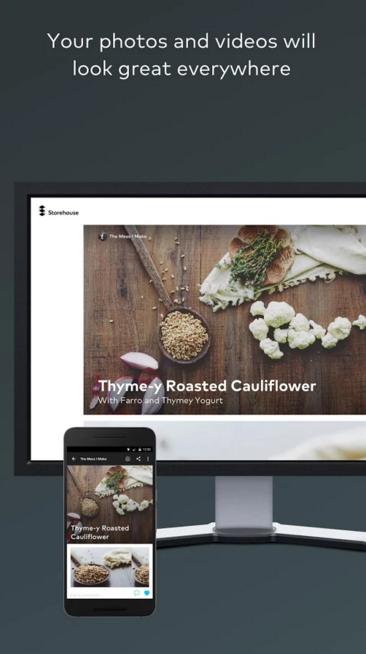 إطلاق نسخة الأندرويد من تطبيق Storehouse لنشر قصصك بالصور والفيديو