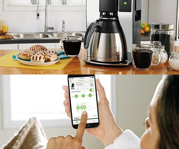 belkin Mr. Coffee® 10-Cup Smart Optimal Brew™ Coffeemaker with WeMo®