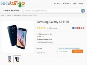 7d2b2cac3ec61 الظهور الأول لهاتف Galaxy S6 Mini - حوحو للتكنولوجيا