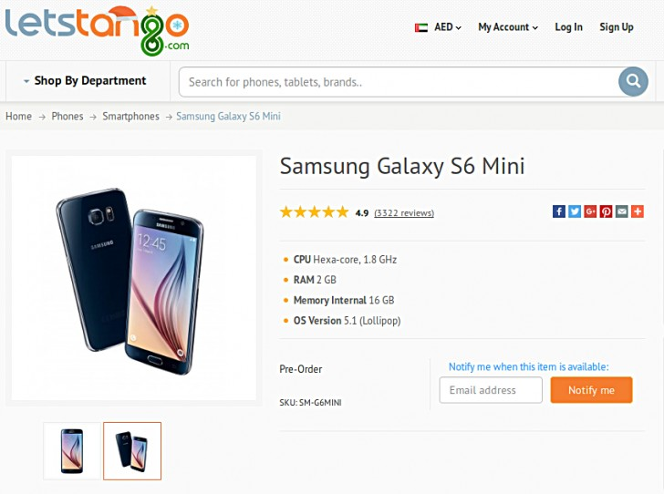 galaxy-s6-mini-listed