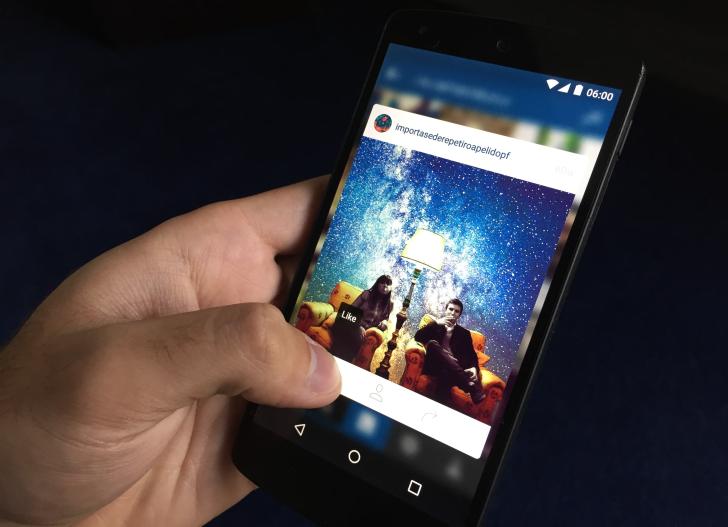 تطبيق إنستغرام على أندرويد يحسن من خاصية اللمس 3D Touch على الصور APK