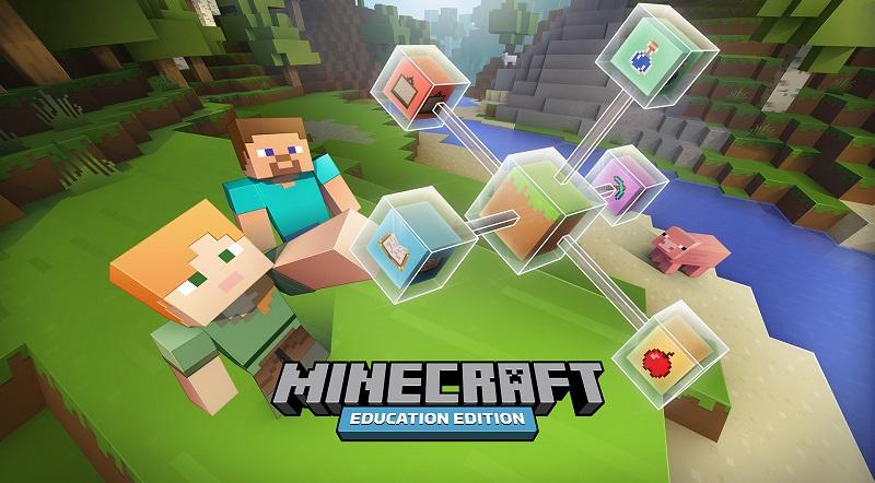 مايكروسوفت تعلن عن إطلاق إصدار تعليمي من لعبة ماين كرافت