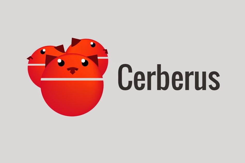 موقع تطبيق Cerberus يحصل على تصميم ماتيريال ديزاين