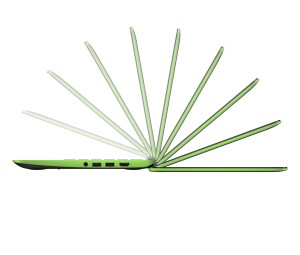 HP Chromebook 11 G4 EE_electric green_side
