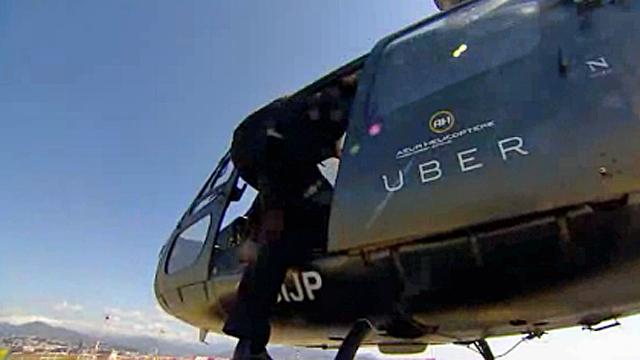 أوبر تنوي توفير رحلات هليكوبتر بالطلب