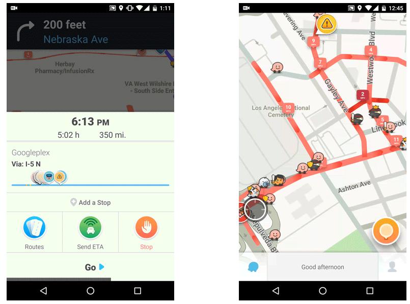 تحديث تطبيق الملاحة Waze في أندرويد يدعم البحث الصوتي وأكثر