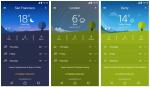 تطبيق الطقس من سوني على متجر بلاي