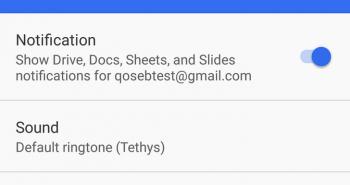تحديث تطبيقات قوقل الإنتاجية Docs و Sheets و Slides يتيح تعطيل الإشعارات