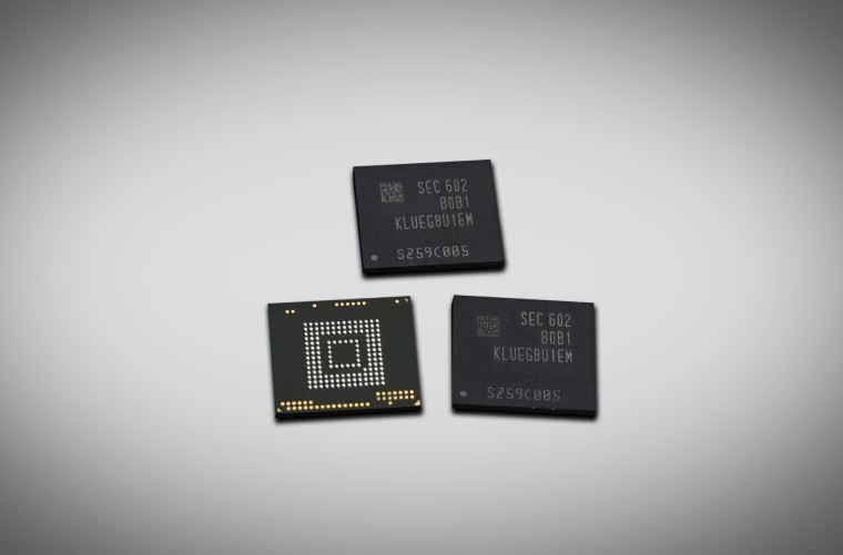 سامسونج تبدأ تصنيع شرائح ذاكرة بسعة 256 غيغابايت