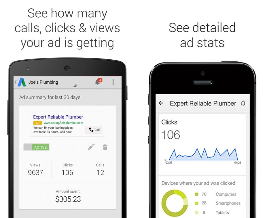 تطبيق إعلانات AdWords Express الآن يدعم الإمارات
