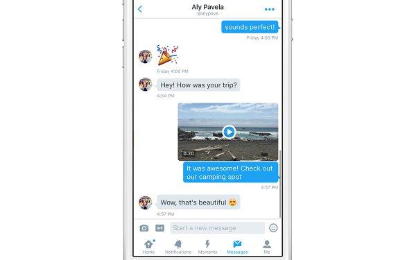 تويتر تتيح التواصل بالفيديو في الرسائل الخاصة