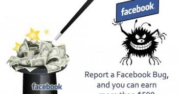فيس بوك دفعت 936 ألف دولار لمكتشفي الثغرات العام الماضي