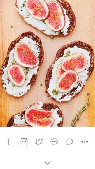 تطبيق Foodie من لاين لإتخاذ أفضل اللقطات لطعامك