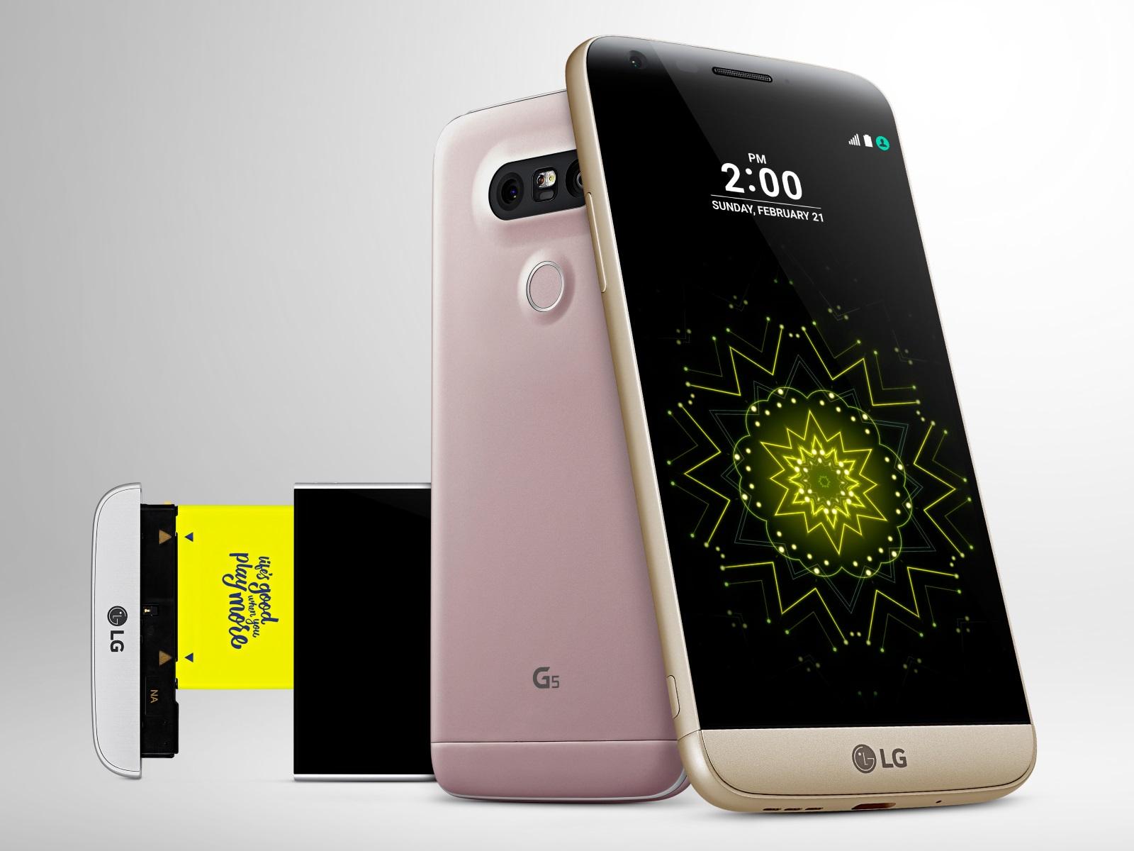 LG G5 يحصد 33 جائزة في المؤتمر العالمي للجوال 2016