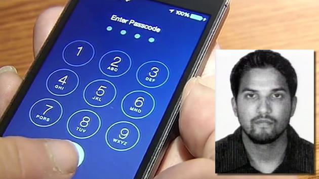 San Bernardino shooter's iPhone