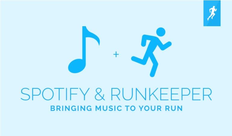 Spotify تعلن تكامل تطبيقها الموسيقى مع تطبيق تتيع النشاط Runkeeper