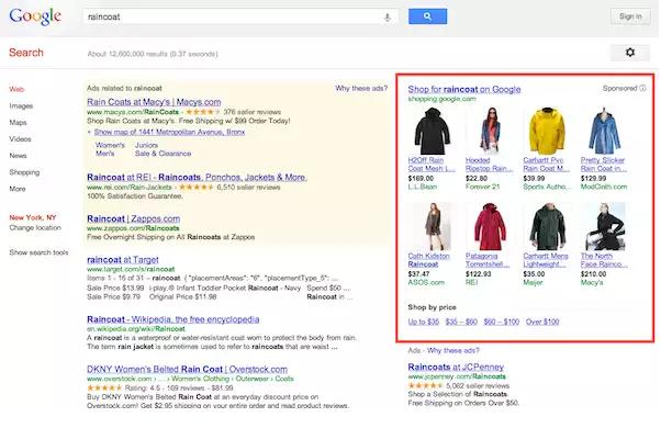 قوقل تتوقف عن عرض الإعلانات يمين صفحة نتائج البحث