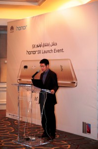 Chris Sunbaigong, Vice President of honor from Huawei