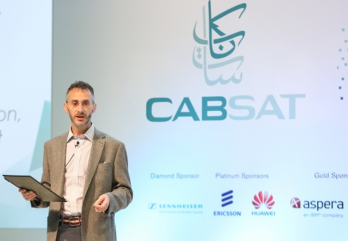 Glenn Gainor, President of Physical Production for Sony Pictures at CABSAT 2016 Content Congress