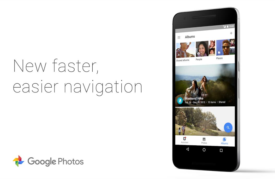 أحدث نسخة من تطبيق Google Photo أصبح التنقل فيه أسرع وأسهل