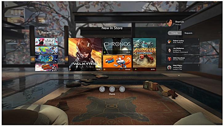 أكولوس تكشف عن عشرات الألعاب المتاحة للواقع الافتراضي