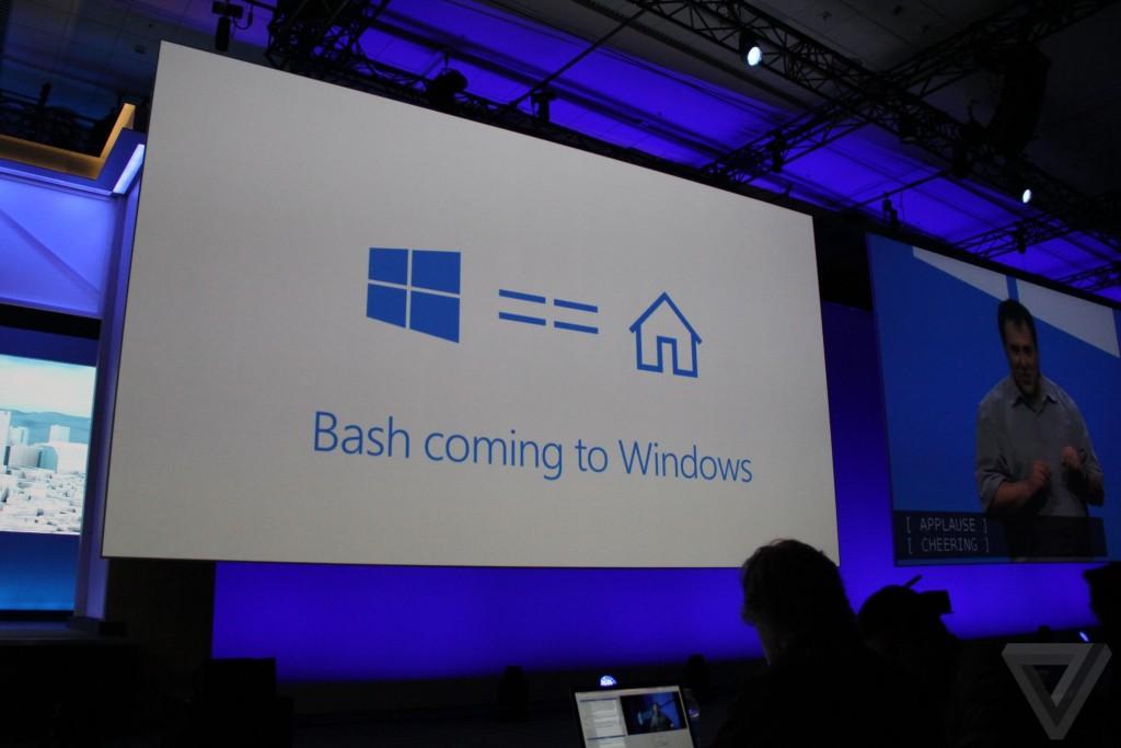 بيلد16 مايكروسوفت تجلب سطر أوامر لينكس إلى ويندوز 10