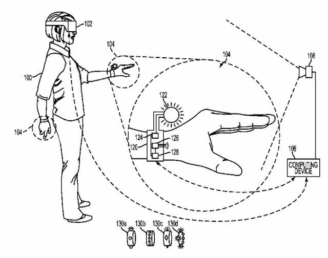 سوني تسجل براءة اختراع خاصة بقفاز ذكي للواقع الافتراضي