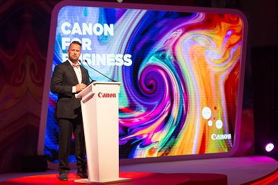 Hendrik Verbrugghe, Marketing Director, Canon Middle East and Canon Cent...