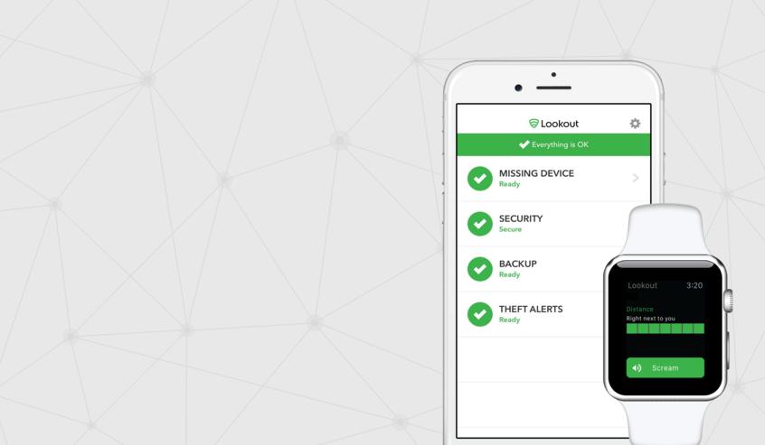 تطبيق الحماية وتتبع الهاتف Lookout يدعم الآن ساعة أبل ووتش