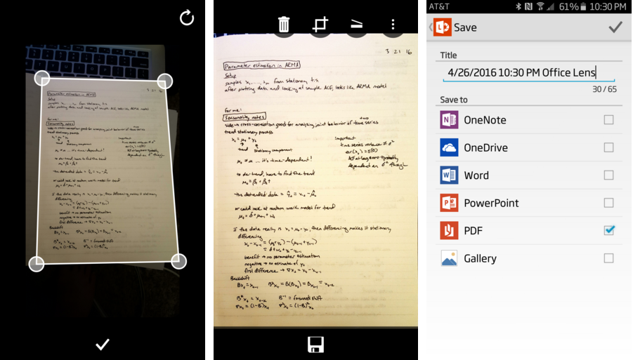 مايكروسوفت تُحدث تطبيقهاOffice Lens بدعمه المسح الضوئي المتعدد