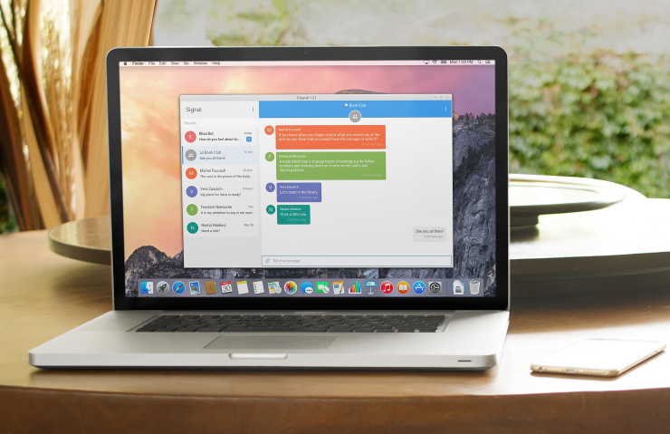بعد أندرويد و iOS تطبيق الدردشة المشفر والآمن جدا Signal على سطح المكتب