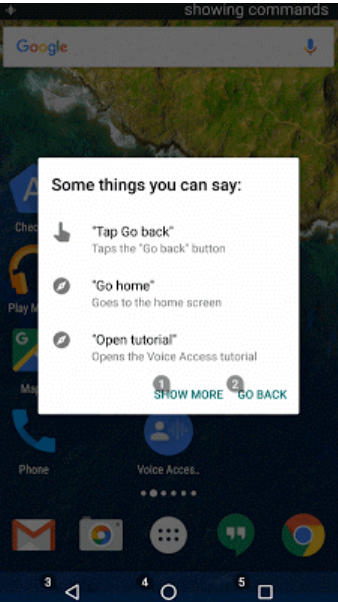 تطبيق قوقل الجديد Voice Access للتحكم الكامل بالهاتف صوتيا