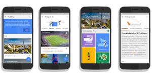 قوقل بصدد إطلاق تطبيق Google Trips مساعد ذكي للمسافرين