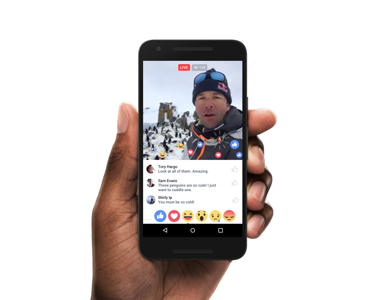 live-reactions-android