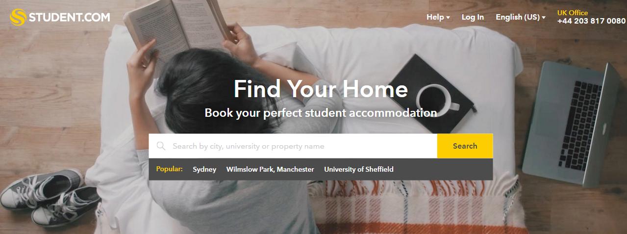 موقع تأمين السكن الطلابي Studentcom يطلق خدماته في السعودية
