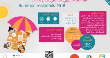 techiebits يعلن بدء البرنامج التدريبي التقني للطالبات