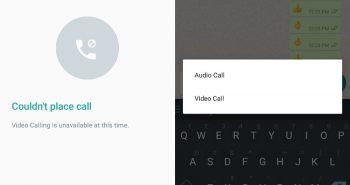 مكالمات الفيديو في واتساب تبدأ بالظهور في أحدث نسخة تجريبية للتطبيق في أندرويد