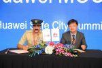 تضافر جهود شرطة دبي وشركة هواوي لتعزيز مستوى الأمن في المدينة بواسطة التقنيات المبتكرة