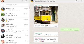 الواتساب تطلق تطبيقها الرسمي على ويندوز وماك