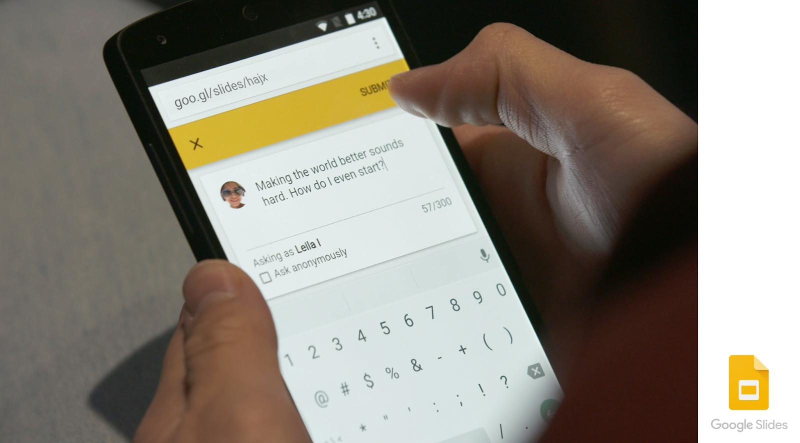تحديث تطبيق Google Slides يجلب معه ميزة الأسئلة والأجوبة في الوقت الحقيقي