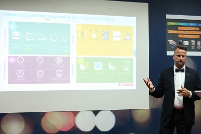 Hendrik Verbrugghe, Marketing Director, Canon Middle East and Canon Central and North Africa