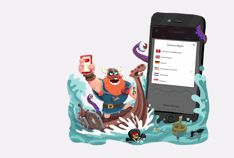 أوبرا تطلق تطبيقها الجديد Opera VPN لتوفير VPN مجاني وغير محدود على iOS