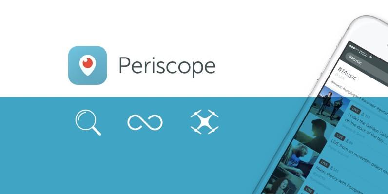 بيرسكوب يتيح محرك بحث والحفظ الدائم للبث المباشر